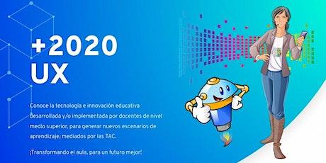 """+2020 UX: """"Experiencias en el aula"""" entradas"""