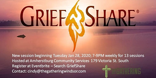 GriefShare Sponsored by The Gathering Amherstburg
