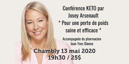 CHAMBLY - Conférence KETO - Pour une perte de poids saine et efficace! 25$