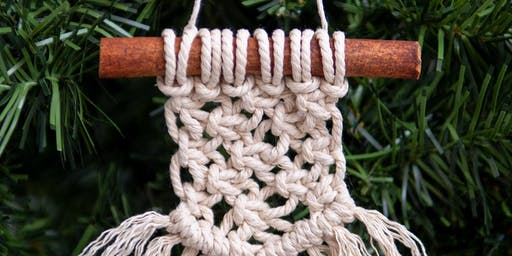 Beginner's Mini Macrame Ornament Workshop by Mindfully Crafted