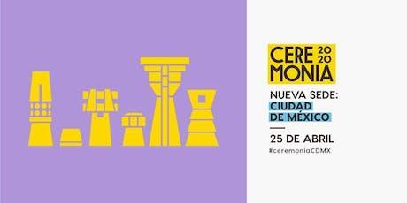 Festival Ceremonia 2020:Noches Electrónicas Informa entradas