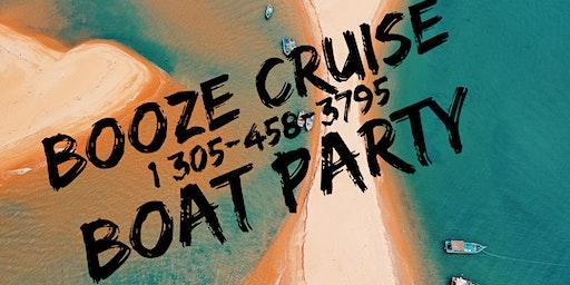 Spring Break Miami Booze Cruise - Unlimited Drinks !