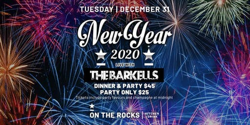 On The Rocks New Years Eve with The Barkells