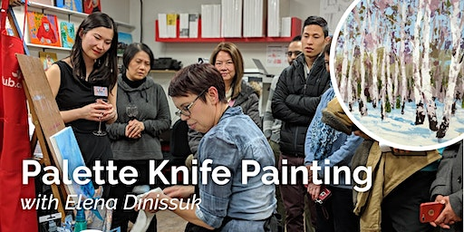 Palette Knife Acrylic Painting Workshop