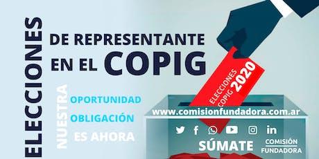 Elecciones COPIG - Representación Higiene, Seguridad y Medio Ambiente tickets