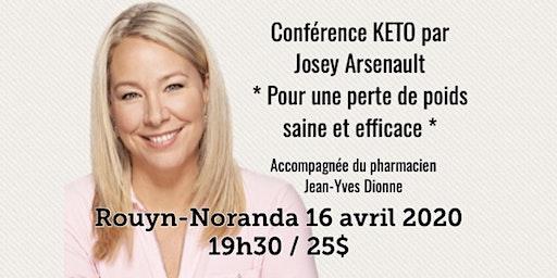 ROUYN - Conférence KETO - Pour une perte de poids saine et efficace! 25$