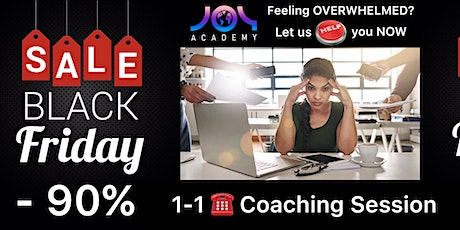 Black Friday 1-1 Phone Coaching Session tickets