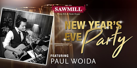 NYE with Paul Woida at The Sawmill Terra Losa tickets