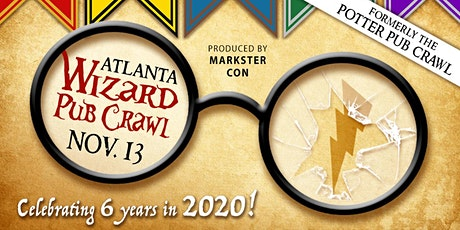 Wizard Pub Crawl (Atlanta, GA - 2020) tickets