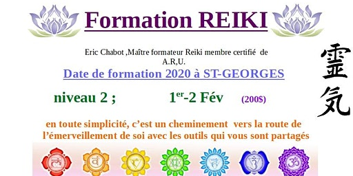 Formation REIKI niveau 2