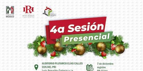 Cuarta Sesión Presencial de la Escuela de Cuadros CDMX tickets
