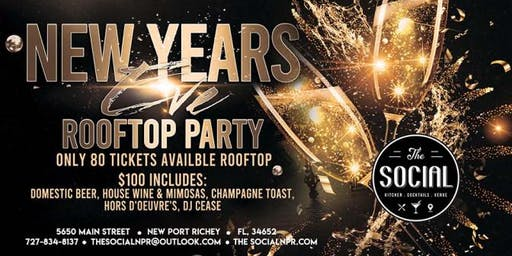 Rooftop New Years Eve Party
