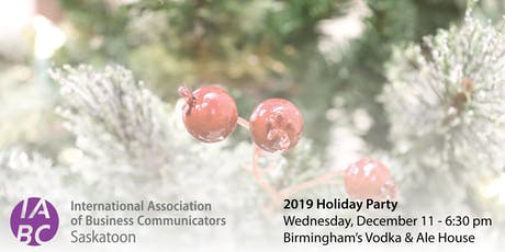 IABC Holiday Party tickets