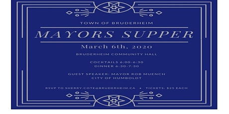 Mayor's supper tickets