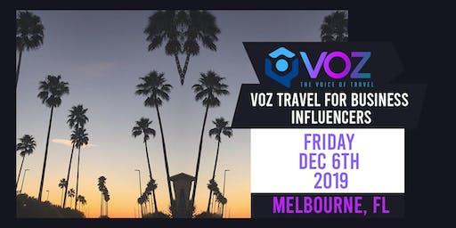 VOZ Travel for Business Influencers - Melbourne, FL
