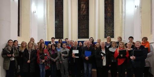 Jingle Bells - Lusk Community Choir in Concert