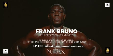 An Evening with Frank Bruno MBE, Former WBC Boxing World Champion tickets