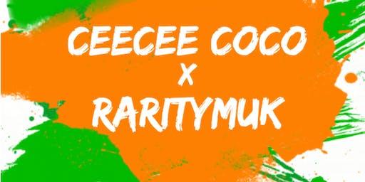 Ceecee Coco x Raritymuk live band