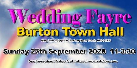 The 2020 Burton Classic Autumn Wedding Fayre tickets
