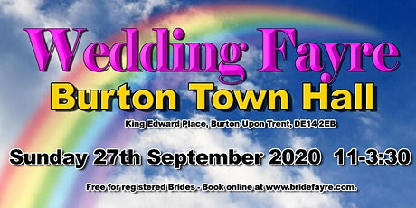 The 2020 Burton Classic Autumn Wedding Fayre tickets