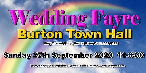 The 2020 Burton Classic Autumn Wedding Fayre