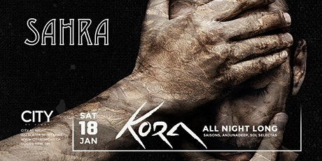 Kora (ANL) at City At Night : Sahra tickets