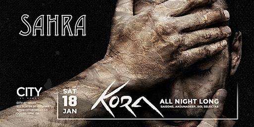 Kora (ANL) at City At Night : Sahra