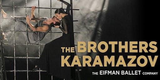 Премьера балета «Братья Карамазовы» Бориса Эйфмана в формате HD