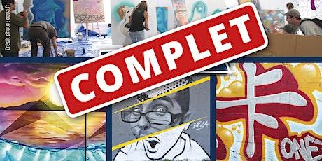 Atelier graff Calligraff janvier 2020 billets