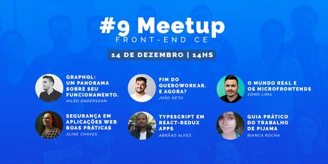 #09 Meetup Front-End CE bilhetes