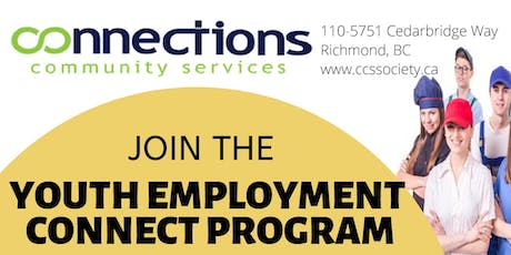Info Session - Youth Employment Connect Program tickets