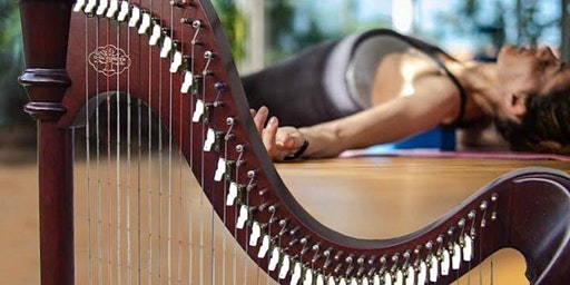 Harp-Serenaded Restorative Yoga for Winter Solstice