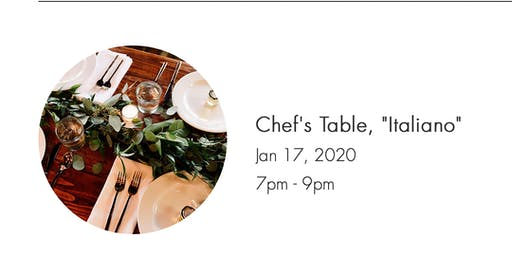 Chef's Table, Italiano