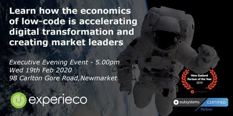 Executive Evening - Economics of enterprise low-code software development tickets