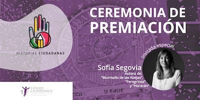 Ceremonia de premiación Historias Ciudadanas 5ta edición
