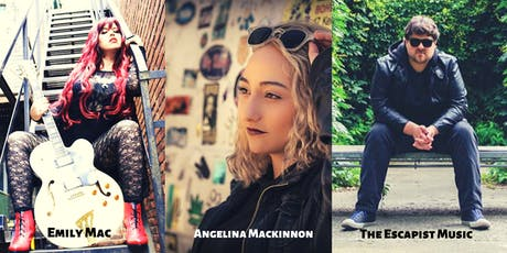Angelina Mackinnon, Emily Mac and The Escapist Music live at C'est What?! tickets
