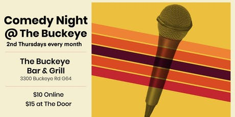 Comedy Night at the Buckeye Room tickets