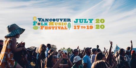 Vancouver Folk Music Festival 2020 tickets