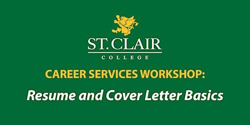 Resume and Cover Letter Basics