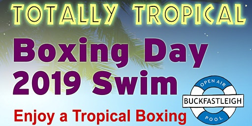 Tropical Boxing Day Swim
