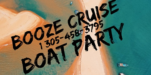 Spring Break Miami Booze Cruise - Unlimited Drinks !