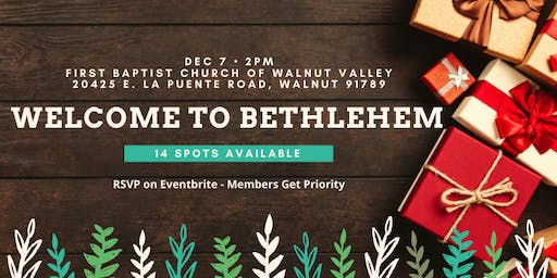"""AIB2B Supports """"Welcome To Bethlehem"""""""
