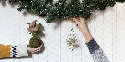 WORKSHOP KOKEDAMA E HIMMELI PER UN NATALE GREEN