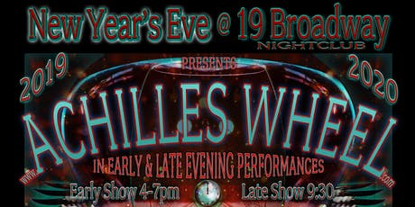 4pm/9pm - Achilles Wheel New Years Eve Celebration tickets