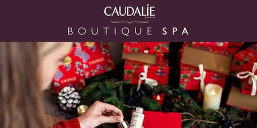 Invitación Caudalie: la más guapa esta Navidad
