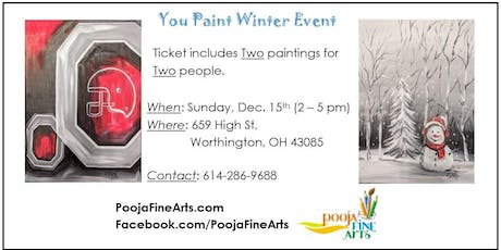 You-Paint Winter Event tickets