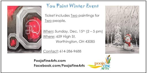 You-Paint Winter Event