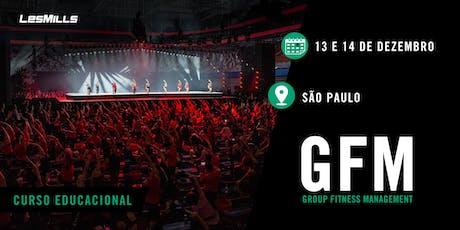 GFM (Group Fitness Magenament) - 2019 ingressos