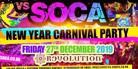 Soca Fiesta - NYE PRE PARTY tickets