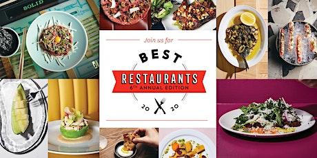 Toronto Life Best Restaurants 2020 tickets